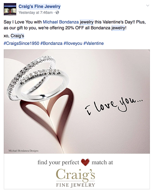 How Better Jewelers Used Social Media For Valentine S Day The